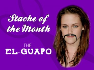 Stache of the Month Stewart