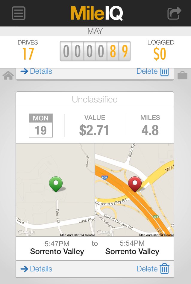 App of the Week: MileIQ – Mileage Tracker