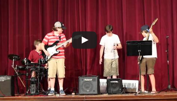 Friday Fun: Jr High Talent Show Fail