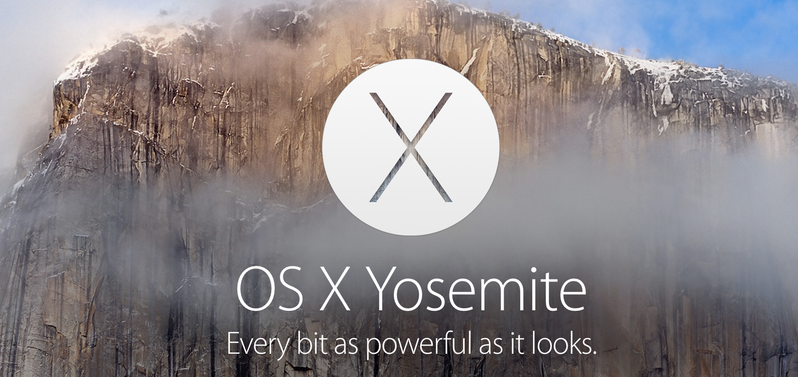 Mac OS X Yosemite Now Available